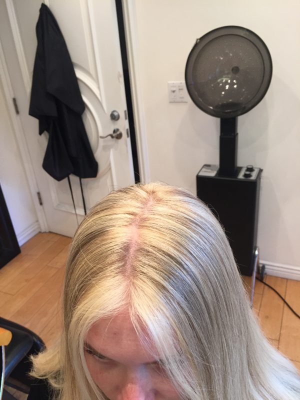 Hair Color Bleach Highlights After