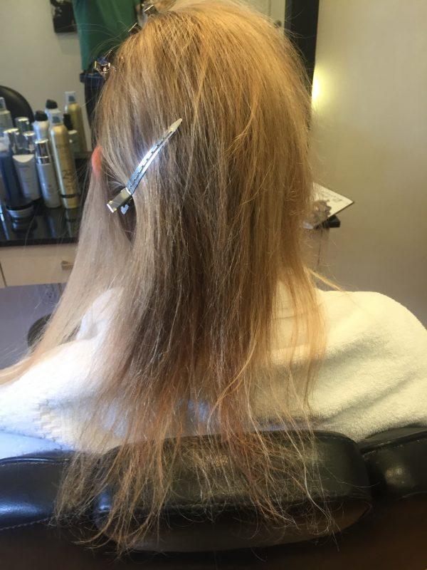 Hair Extensions Cut and Style